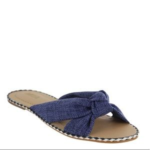 MIA Reily Knotted Sandal Slide